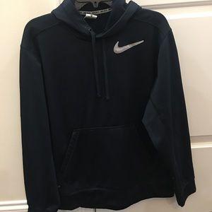Navy Nike Therma Fit medium pullover hoodie